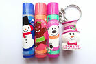 LIP SMACKER CHILLIN' WINTER TREATS LIP BALM OR KEYRING - CHOOSE FROM 4 ITEMS