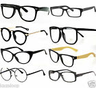 Unisex Clear lens Vintage Retry Style Fashion Glasses