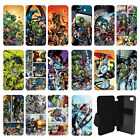 DC Marvel superhero comic book Flip Wallet cover case for Apple iPhone No.20