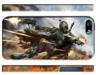 Star Wars 2015 Boba Fett Iphone 4 4s 5 5s 5c 6 6S 7 8 X Plus Case Cover ip1 $14.99 USD on eBay