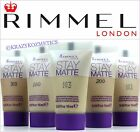 2 x RIMMEL Stay Matte Liquid Mousse Foundation - 30ml In Total - Various Shades