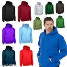 Mens Hoodie Classic Plain Hooded Sweatshirt Size XS to 4XL NEW Super Soft