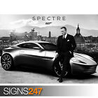 JAMES BOND 007 SPECTRE MOVIE - ASTON MARTON DB10 (1045) Photo Poster Print Art £16.95 GBP