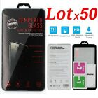 Lot x50 Premium Tempered Glass Screen Protector for Apple iPhone 6S/6S 7 plus