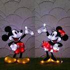 DISNEY Mickey Minnie Mascot Motif Stand Light Garden Room LED from Japan E1533
