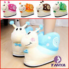 cute snail Shoes Cartoon Warm Cute Adult Winter Home Flat Christmas Gift