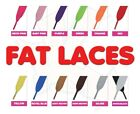 Super Fat Flat Coloured Skate Shoe Laces Shoelaces