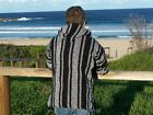 #500 Ten Pack Wholesale Assorted Baja Hoodie Mexico Drug Rug Recycled Fibers lot