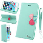 Magnetic Cherry Leather Flip Stand Wallet Case Cover For Apple iPhone 6 6S Plus