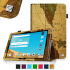 Folio PU Leather Case Cover for LG G Pad X 10.1 Inch 4G LTE AT&T V930 Sleep/Wake