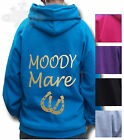 HORSE Riding Equestrian HOODIE Children & Adult SIZE A lovely gift MOODY MARE
