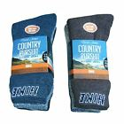 Mens David James Country Pursuit Hiking Socks Pack of 3
