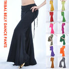 Tribal Belly Dance Costumes Pants Trousers Attached Skirt--Recommended