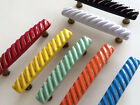 "3.75"" Drawer Pulls Cabinet Handles Blue Green Orange Red Yellow Black White 96"