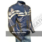 Captain America leather costume jacket the winter soldier leather jacket lot