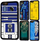 Star Wars Movie R2D2 Rubber Phone Case For iPhone 5/5s 5c 6/6s 7 8 X Plus Cover