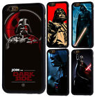 Darth Vader Star Wars Rubber Phone Case For iPhone 5/5s 5c 6/6s 7 8 Plus X Cover