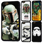 Star Wars Boba Fett Rubber Phone Case For iPhone 5/5s 5c 6/6s 7 8 X Plus Cover