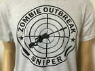 SNIPER Zombie Outbreak Response Team Rifle Shirt Walking dead