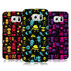 HEAD CASE DESIGNS SPACE ROBOTS HARD BACK CASE FOR SAMSUNG PHONES 1