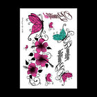 Sexy Removable Flower Arm Women Men Body Art Waterproof Temporary Tattoo Sticker