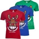 Christmas Red Nose Reindeer Novelty T-Shirt  mens Size