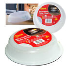 Microwave Food Cover Micro Cooking Lid Clear Hot Plate Ventilated Plastic Dish