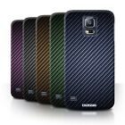 Carbon Fibre Effect/Pattern Phone Case/Cover for Samsung Galaxy S5 Neo/G903