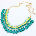 New Bead Collares Necklaces Pendant Choker Colar For Women Jewelry Accessories