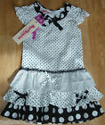 Beetlejuice girl summer dress 3-4 y BNWT designer