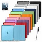 Best Smart Case + Back Cover For Apple iPad 2 3 4