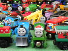 huge choice WOODEN LOTS of individual THOMAS WOODEN TRAINS for ELC BRIO