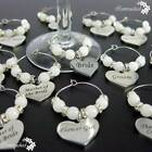 Wine Glass Charms Wedding Party Champagne Dining Bar Marker Table supplies Decor