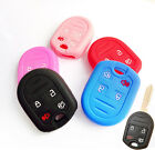 FIT FOR FORD FUSION ESCAPE MUSTANG EDGE FOCUS SILICONE KEY REMOTE HOLDER COVER