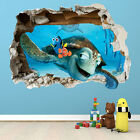 FINDING NEMO WALL STICKER - 3D SMASHED BEDROOM BOYS GIRLS WALL ART DECAL