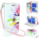 Flip Wallet Pouch Folio Case Cover For Samsung Galaxy Ace 4 Lite 4G Cell Phone