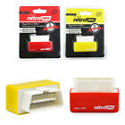 NitroOBD2 OBD2 Performance Chip Tuning Box For Petrol/Diesel Cars Yellow/Red