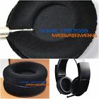Soft Velour Ear Pads Cushion For Sony Wireless Stereo Headset - Playstation 3