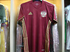 OFFICIAL ADIDAS Russia Home 2015-17 EURO 2016 Football Soccer Jersey