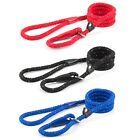 Ancol Soft Strong Nylon Rope Slip Reflective Dog Lead Blue Red Black 1.5m x 12mm