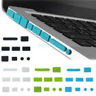 9pc Silicone Anti Dust Port Plugs for Macbook Pro 13.3 15.4 17 Rubber Cover Set