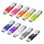 64MB - 16GB USB 2.0 Swivel Flash Memory Stick Pen Drive Storage Thumb U Disk New