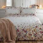 Rjr.John Rocha Designer Cream 'Radiant' Floral Cotton Sateen Bed Linen