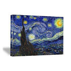 Canvas Art Print Starry Night Van Gogh Giclee Fine Painting Reproduction Poster