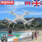 Syma X5SW WIFI 4CH FPV Real Time Helicopter Quadcopter Drone UFO W/ Camera UK!!