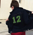 NFL SEATTLE SEAHAWKS 12th Man Womens Bling Denim Jean Jacket NWT Size SM-4X