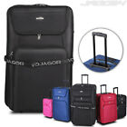 5 pc Trolley Set Wheeled Suitcase Hand Travel Luggage Cabin Bag XXL XL L M S