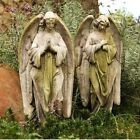 Prayer of Angels Outdoor Garden Statues by Orlandi Statuary Set of Two FS064