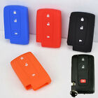 SILICONE KEY COVER FOB FIT FOR 04-09 TOYOTA PRIUS CROWN VERSO SHELL CASE SKIN
