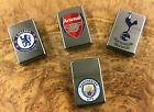 Personalised Zippo Lighters Premier League Football Clubs Birthday Men's Gift